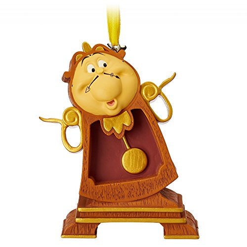 Disney Cogsworth Sketchbook Ornament - Beauty and the Beast