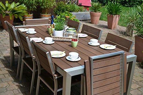 Luxus Gartenmöbel Set 8 Personen