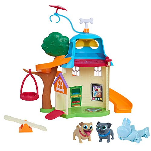 51FQbHaa KL - Just Play Puppy Dog Pals House Playset, Multicolor
