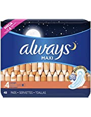 Always Maxi Unscented Pads with Wings