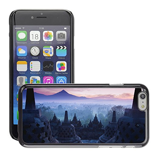 Premio Sottile Slim Cassa Custodia Case Cover Shell // V00002815 Temple Borobudur // Apple iPhone 6 6S 6G 4.7""