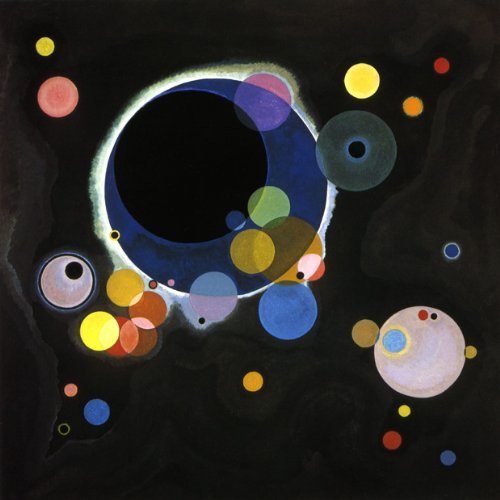WONDERFULITEMS Several Circles 1926 Celestial Bodies Orbiting The Universe Bauhaus Period by Vasily Kandinsky 20