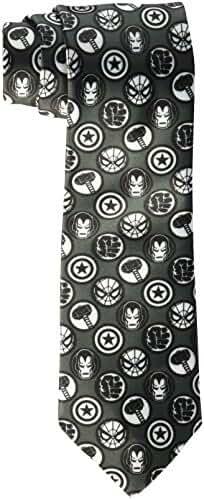 Marvel Men's Avengers Logo Tie