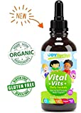 Liquid Organic Vitamins for Kids – Immune System Booster for Kids, Best Immune System Support for Children with Iron