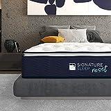 Signature Sleep Reset 12' Nanobionic Pillow Top Hybrid Mattress, Queen