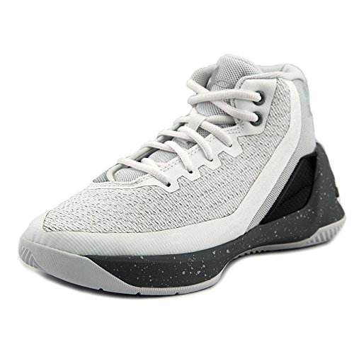 74ce59617e55 Under Armour PS Curry 3 Youth US 12.5 White Basketball Shoe by Under Armour