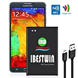 IBESTWIN Note 3 Battery 3200mAh Li-ion Replacement Battery for Samsung Galaxy Note 3