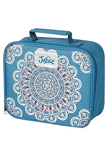 Justice for Girls Lunch Tote (Blue Medallion)