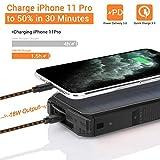 Solar Charger 26800mAh, Portable Solar Power Bank