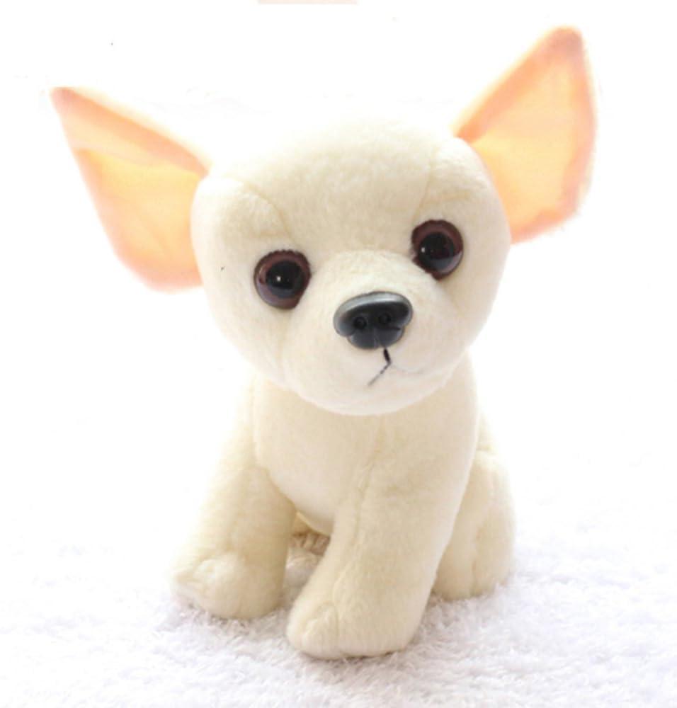 AMOBESTER Stuffed Chihuahua Dog Puppy Toy Realistic Stuffed Animals