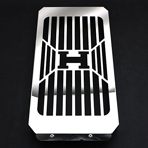- Alpha Rider Stainless Steel Water Tank Radiator Grill Net Guard Cover Protector For Honda VTX 1800 C/F/N/R/S/T, VTX1800 H Style
