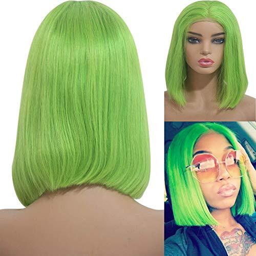 Bob Wigs Lime Green 8