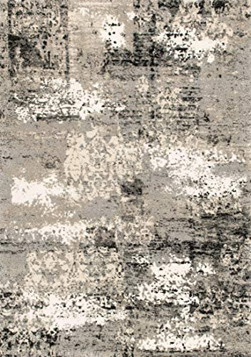 Loloi VIERA Vintage Distressed Abstract Area Rug, 8 -11 x 12 -5 , Grey