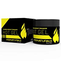 Vog Naturals Hot Gel Workout Enhancer - Fat Burning Sweat Cream for Men & Women - Hot Cream Cellulite Treatment - Belly Fat Burning Cream - Natural Sweat Workout Enhancer (bottle)