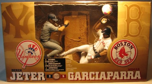 McFarlane 2004 MLB Jeter vs Garciaparra Dlx Box Set