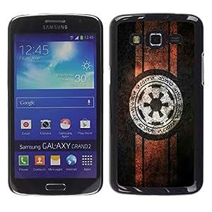 A-type Arte & diseño plástico duro Fundas Cover Cubre Hard Case Cover para Samsung Galaxy Grand 2 (Starwars Alianza Rebelde)