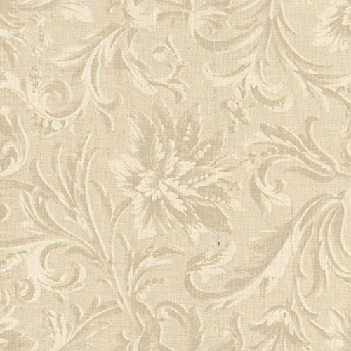 Windham Fabrics Acanthus Damask Cream 108 Inch Quilt Back