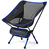 Outdoor Folding Camping Chairs Adjustable Height Lightweight Low Back Camp Chair