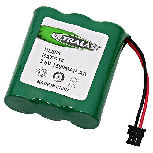 Panasonic P-P504 Cordless Phone Battery Replacement For 3 AA w/Mitsumi - Panasonic HHR-P505, Battery ()