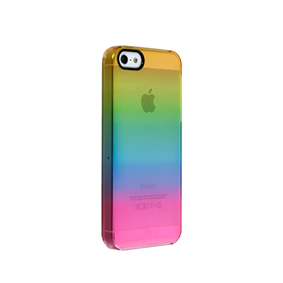 Amazon.com  Uncommon LLC Rainbow Shade Clear Deflector Hard Case for ... f6721513fa61