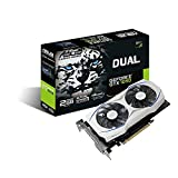 ASUS Geforce GTX 1050 O2GB Dual-Fan Edition DVI-D HDMI DP 1.4 Gaming Graphics Card (DUAL-GTX1050-O2G) Graphic Cards