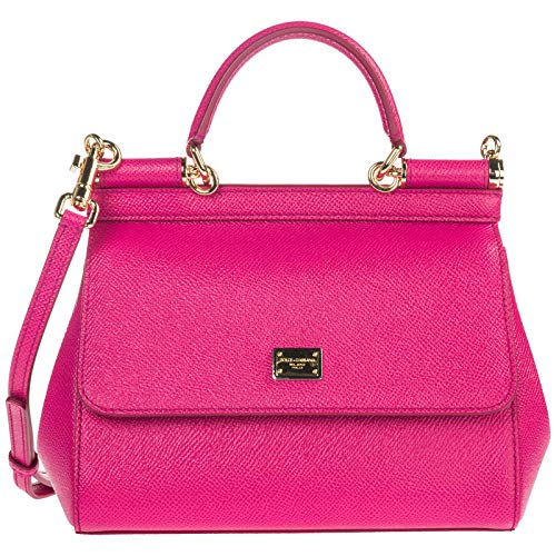 (Dolce&Gabbana women Sicily handbag fucsia)