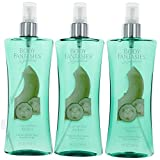 Cucumber Melon Fantasy by Body Fantasies 3 Pack of 8 Fragrance Body Spray women