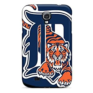 Samsung Galaxy S4 TYG2215vsyo Unique Design Beautiful Detroit Tigers Skin Protector Cell-phone Hard Covers -casesbest88