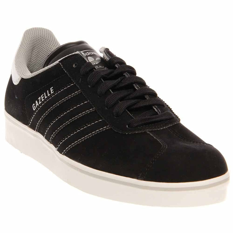 adidas originali gazzella scarpe da uomo nero, argento