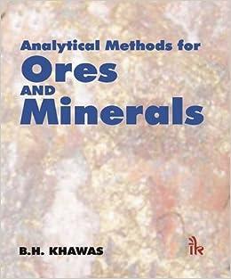 Descargar Ebooks Torrent Analytical Methods For Ores And Minerals De Epub A Mobi