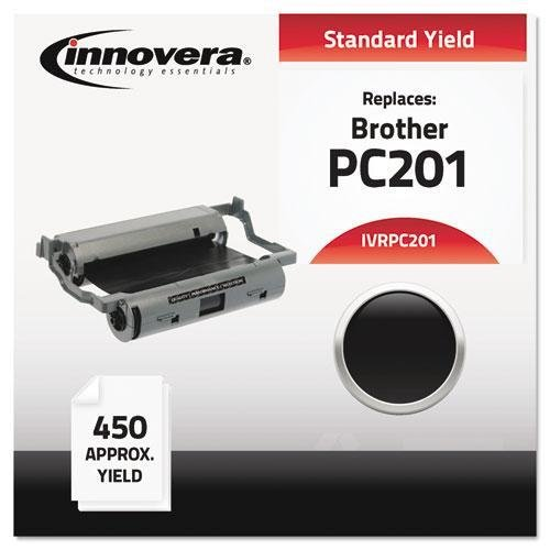 (Innovera PC201 Compatible, Remanufactured, PC201 Thermal Transfer, 450 Page-Yield, Black)