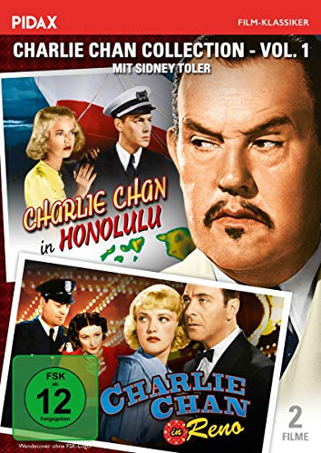 Charlie Chan Collection - Vol. 1 (Charlie Chan in Honolulu + Charlie Chan in Reno) (Honolulu-shop)