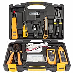 Product Description InstallerParts Network Tool Kit is the ideal kit for any network installation job. It will help you handle cabling, terminating, and troubleshooting complex networks with ease. These professional grade tools are reliable a...