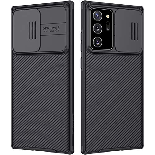 Nillkin Galaxy Note 20 Ultra Case, 【CamShield Pro】 CamShield Pro Series Case with Slide Camera Cove,【Hard PC and TPU】 Protective Case for Samsung Galaxy Note 20 Ultra 5G(6.9'') - Black