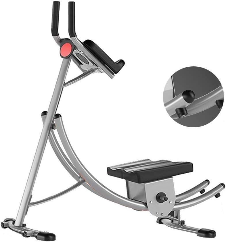 Silla de Fitness Equipos Abdominal Multifuncionales Abs Adulto Pesa De Heces Inicio De Abdominales Bordo Bancos (Color : Gray, Size : 130 * 67 * 127cm)