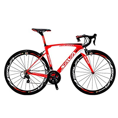 SAVADECK HERD6.0 T800 Carbon Fiber 700C Road Bike SHIMANO 105 5800 22 Speed Groupset Carbon Wheelset Bicycle with HUTCHINSON 25C Tire