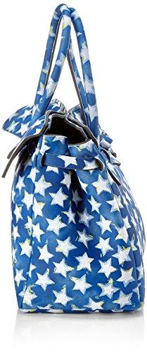 H Mano Blu save Donna 34x29x18 cm Stars a my x L x Miss W Borsa bag fFfXP