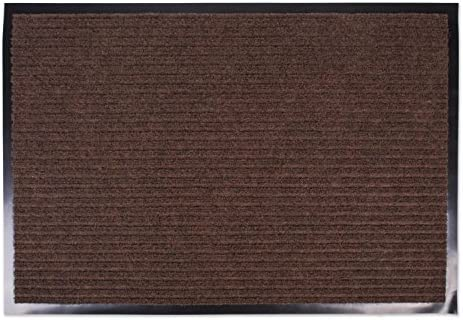 ECO-WILL 100 Polyester Soft Indoor Doormat for Home Front Door Mat Bathroom Mat Non-Slip Rubber Backing Absorbent Mud Machine Wash 31.5×19.7inch Light tan