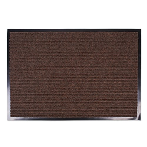 J&M Large Utility Doormat Heavy Duty Durable Indoor/Outdoor Ribbed and Waterproof 30x48