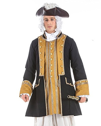 Norrington Commodore Pirate Costume Coat