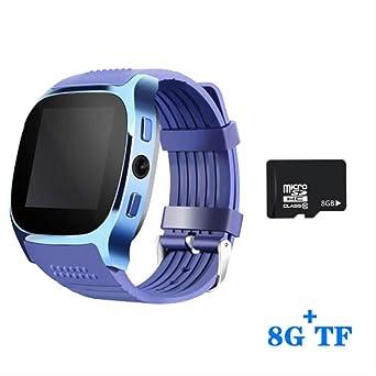 Relojes inteligentesBluetooth Sim Card Camera GPS Lbs Tracker ...