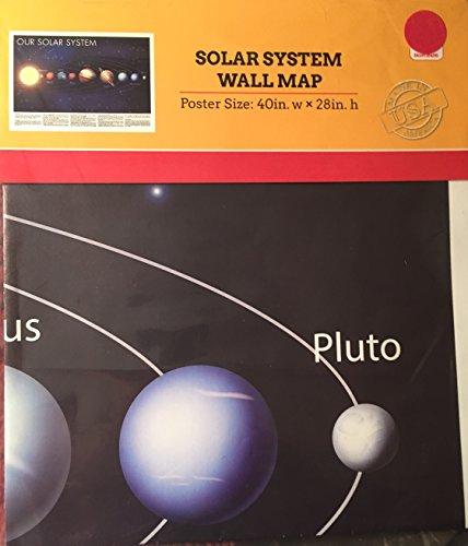 Solar System Wall Map - Map System Wall Solar