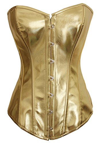 Alivila Y Fashion Steampunk Leather Corset product image