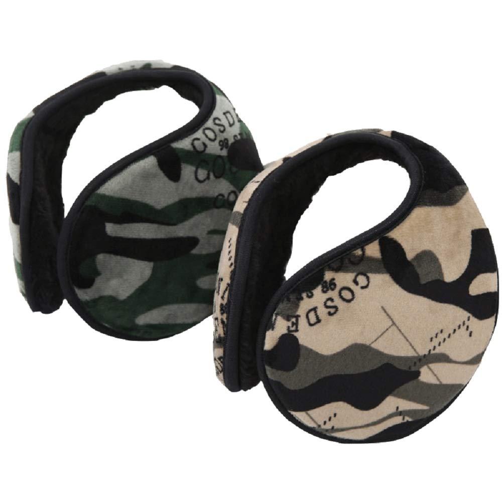 Earmuffs, Unisex Camouflage Ear Warmers Winter Outdoor Earmuffs (Random Color) Lonzer 453JJS7GDA51W14ZS
