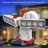 SANSI LED Security Motion Sensor Outdoor Lights, 30W (250W Incandescent Equivalent) 3400lm, 5000K Daylight, Waterproof Floodlight, White