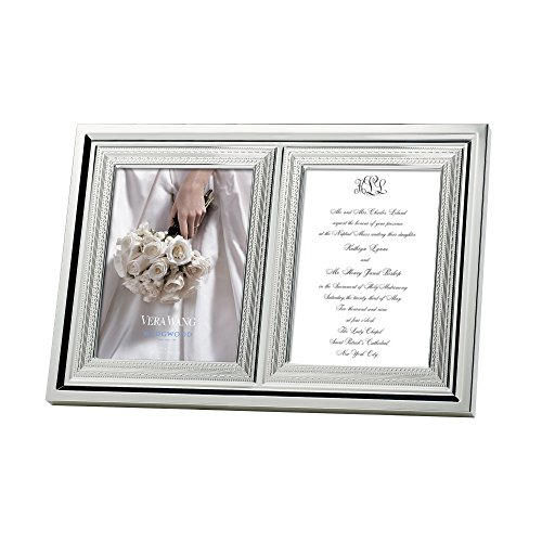 - Wedgwood with Love Double Invitation Frame - 5
