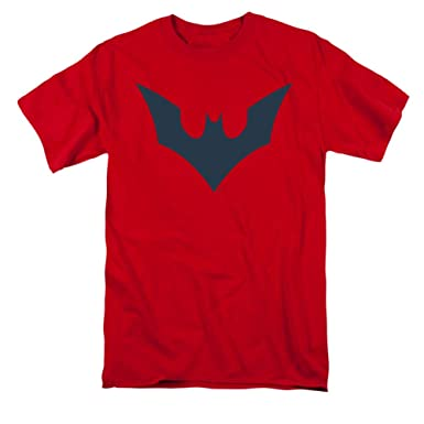 Amazon Batman Beyond Symbol On Red T Shirt Clothing