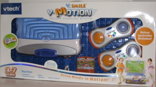 V.Smile V-Motion Active Learning System Giftset with 2 Wireless Controllers
