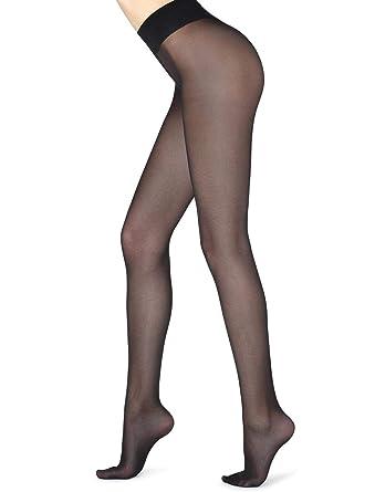 Calzedonia - Medias - para mujer negro Noir - 019: Amazon.es: Ropa y accesorios