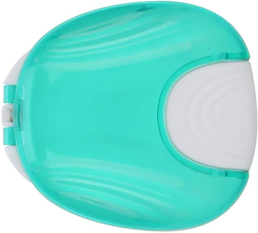Estuche retenedor, Estuches retenedores grandes portátiles para retenedor de ortodoncia, Invisalign, Protector bucal y almacenamiento de dentaduras postizas, Cierre hermético(azul): Amazon.es: Belleza